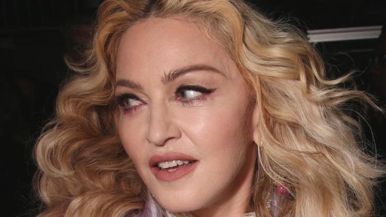 Madonna at an event