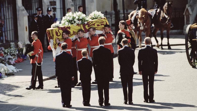 Prince Philip procession.