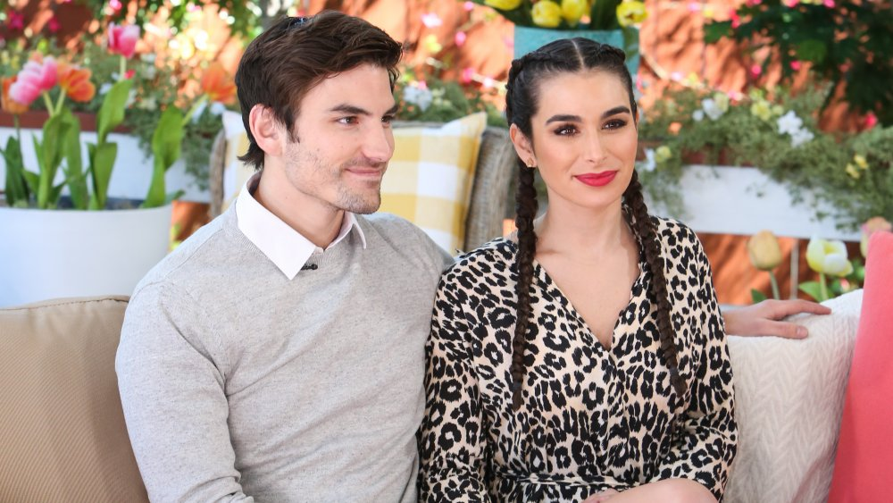Ashley Iaconetti and Jared Haibon from The Bachelor