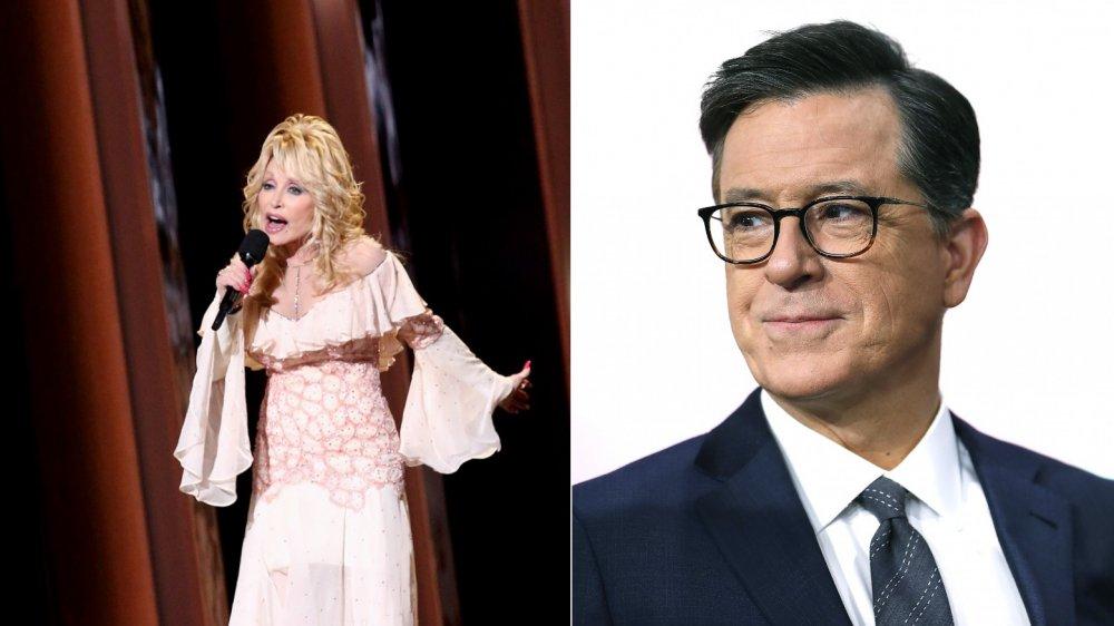 Dolly Parton / Stephen Colbert