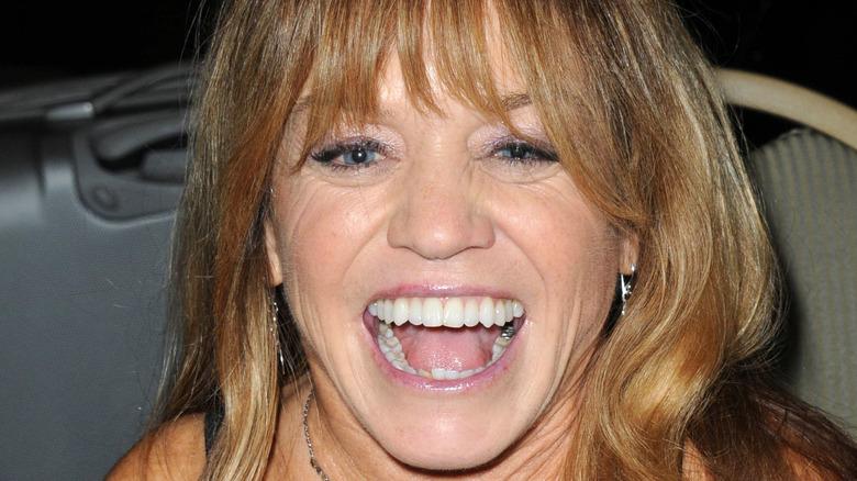 Actress Debbie Lee Carrington laughing