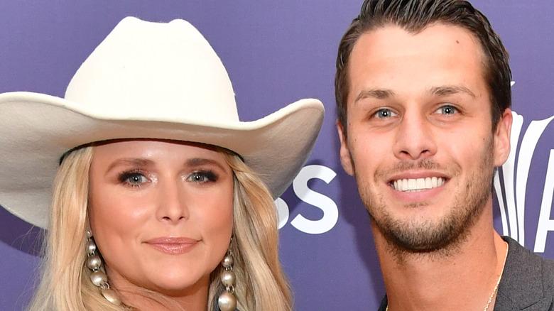 Miranda and Brendan at the Country Music Awards