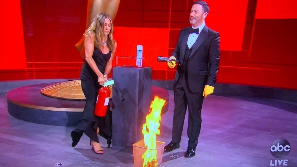 Jennifer Aniston / Jimmy Kimmel fire