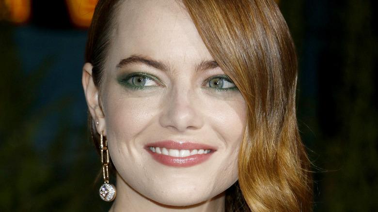 Emma Stone smiling