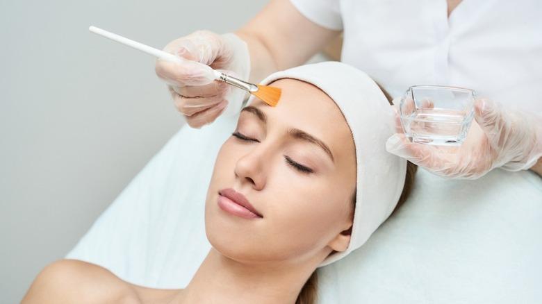 skin facial brush