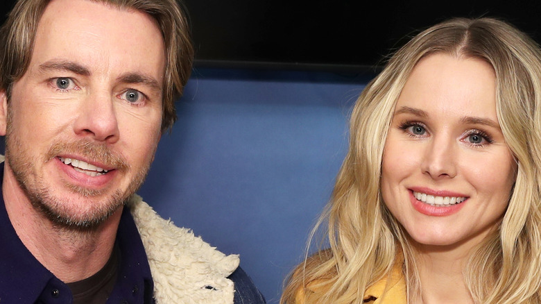 Kristen Bell and Dax Shepard together