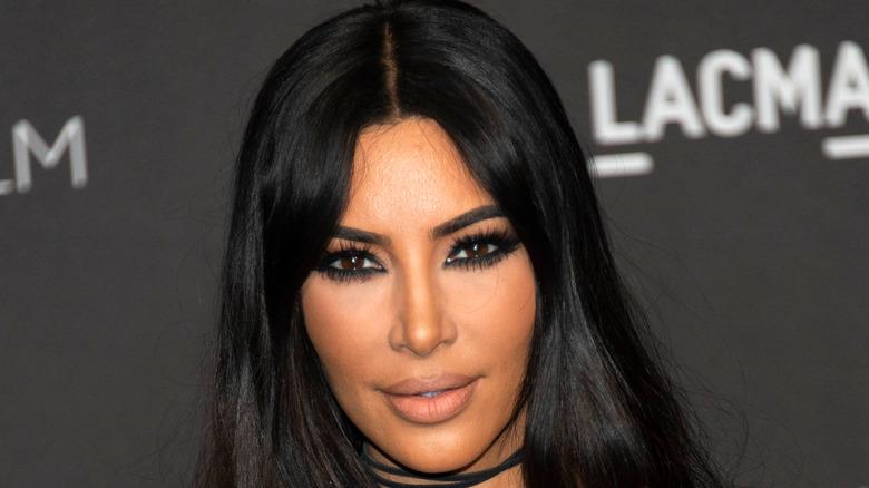 Kim kardashian close up