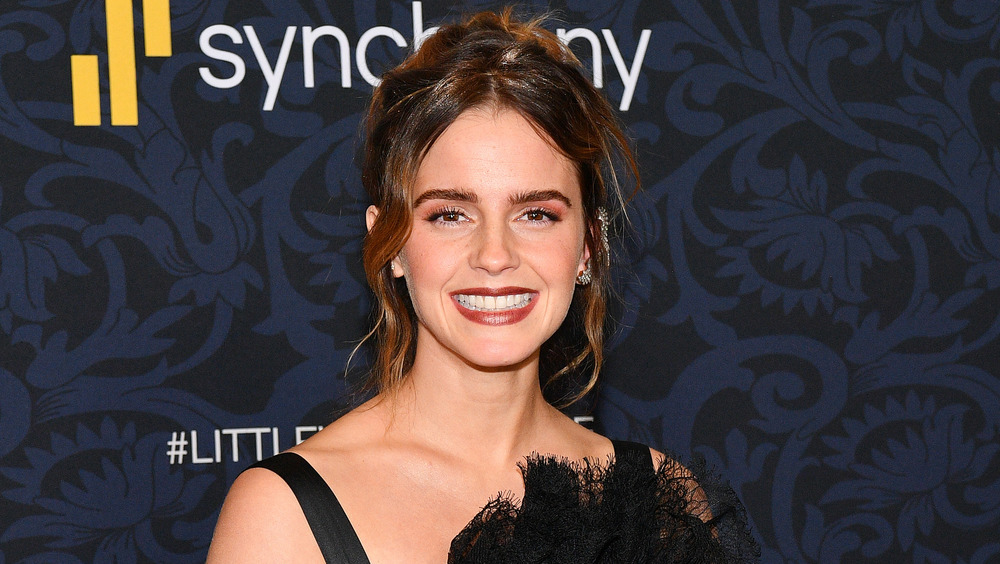 Emma Watson smiling