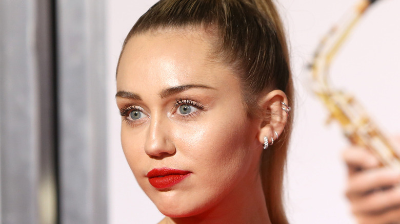 Miley Cyrus at an event