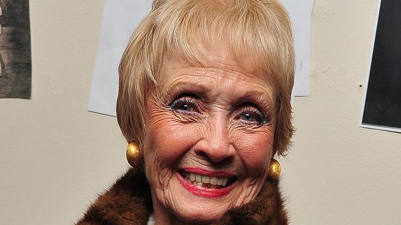 Jane Powell smiling