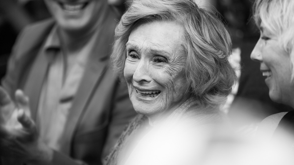 Cloris Leachman black-and-white photo