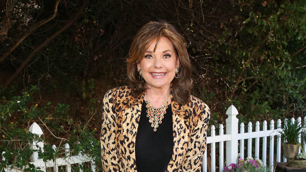 Dawn Wells smiling at home