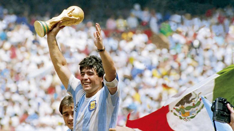 Diego Maradona, soccer legend