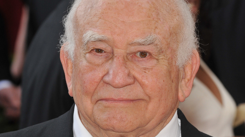 Ed Asner at event
