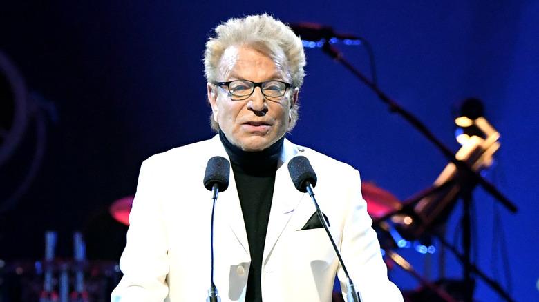 Siegfried Fischbacher in white suit