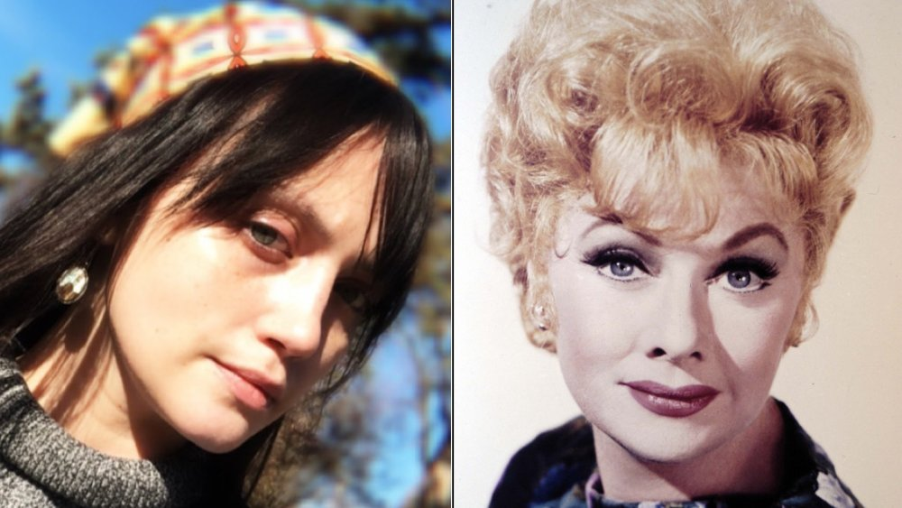 Desiree Anzalone and Lucille Ball