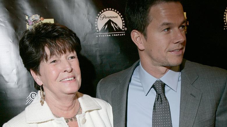 Mark Wahlberg with mom Alma