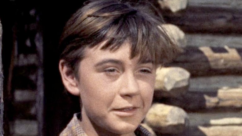 Tommy Kirk in a scene from Old Yeller