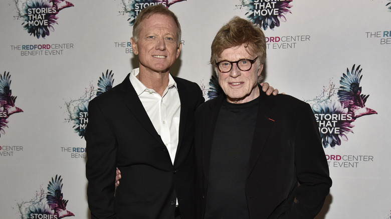 James and Robert Redford