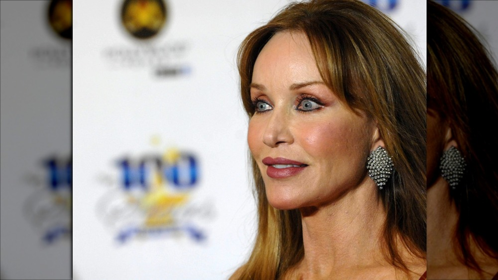 Tanya Roberts on the red carpet