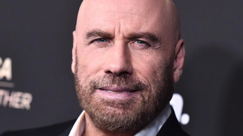 John Travolta at an event.