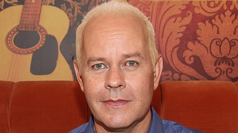Friends star James Michael Tyler poses in Central Perk