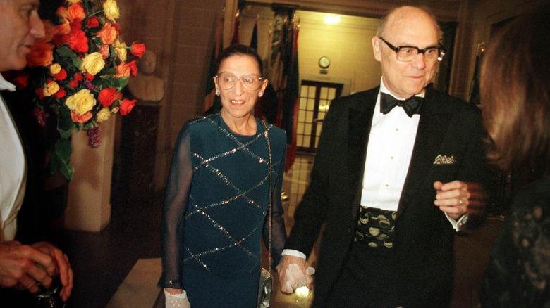 Ruth Bader Ginsburg and husband Marty Ginsburg