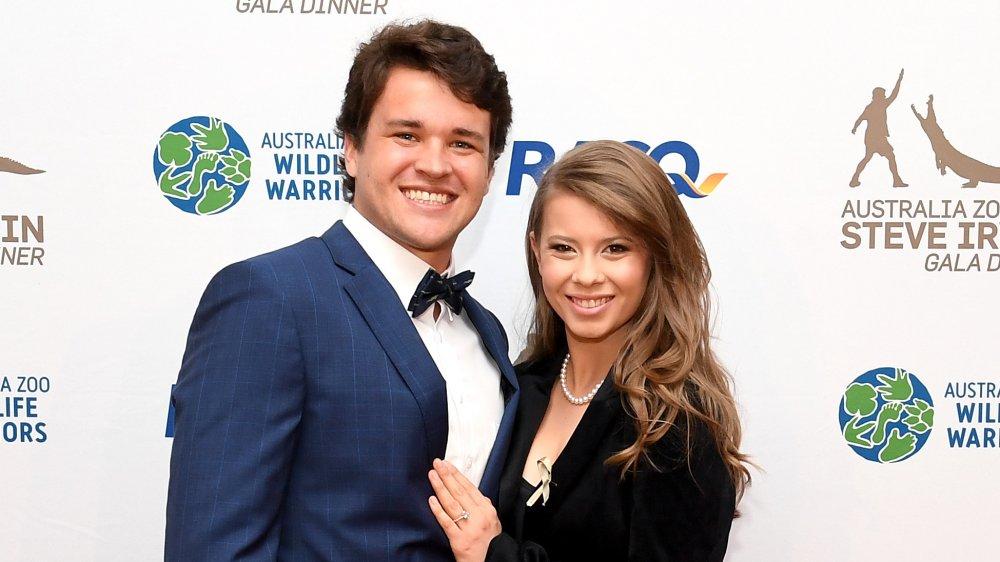 Bindi Irwin with fiance Chandler Powell