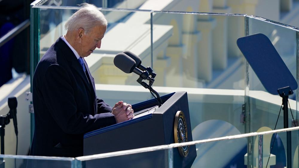 Joe Biden moment of silence