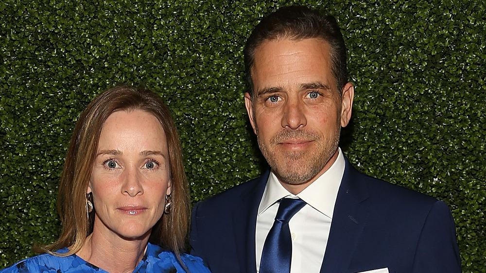 Hunter and Kathleen Biden together