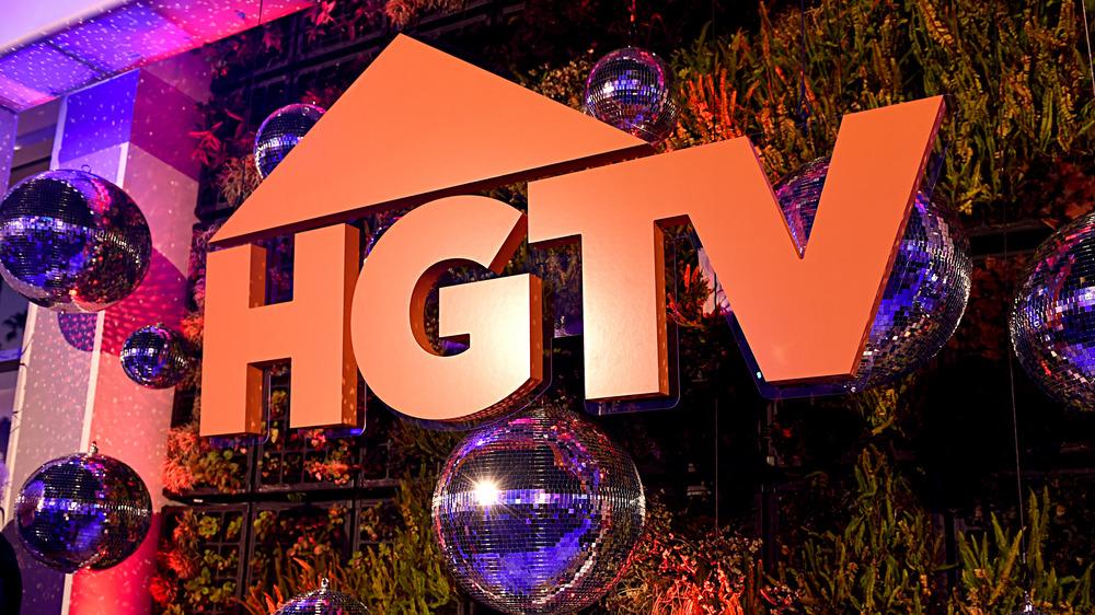 HGTV logo with orange letters