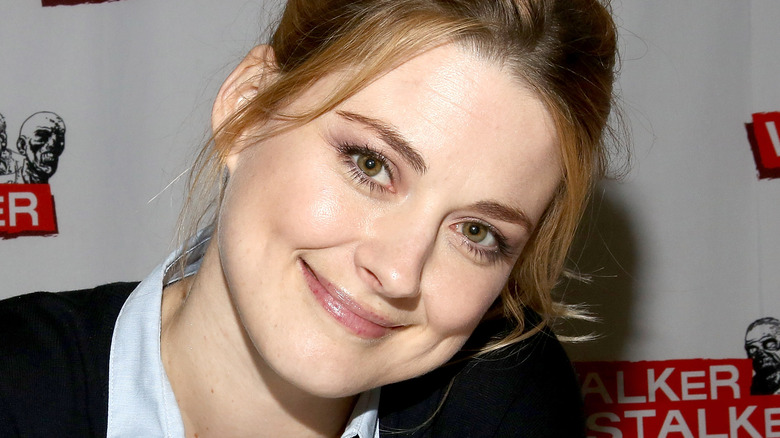 Alexandra Breckenridge smiling