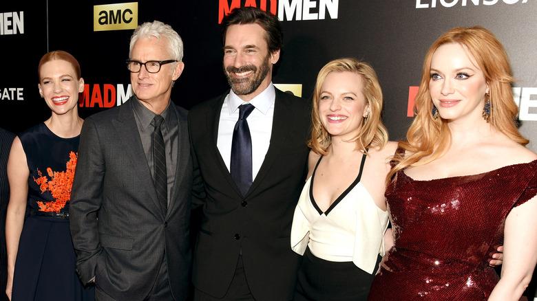 Mad Men cast at event