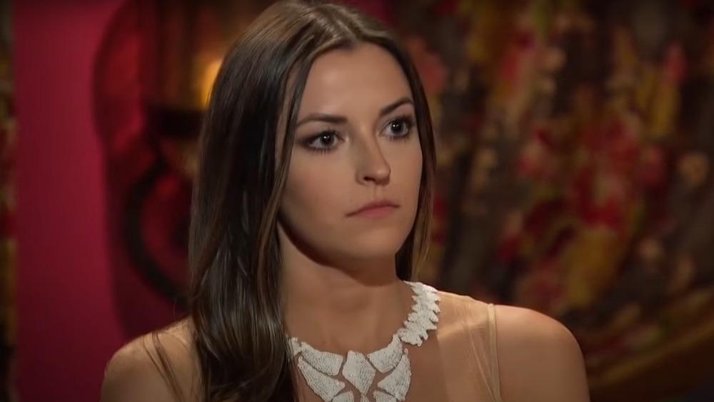 Tia Booth on The Bachelor