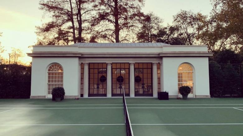 White House tennis pavilion