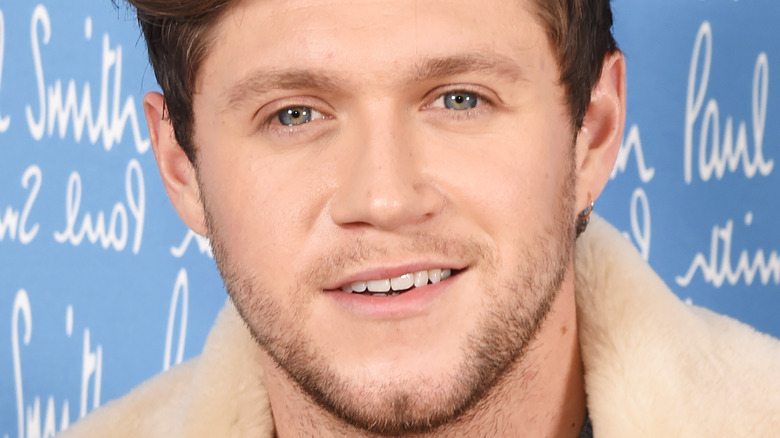 Niall Horan smiling for the camera