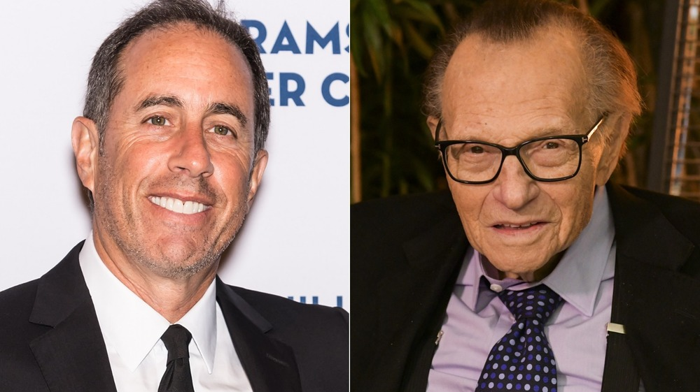 Jerry Seinfeld on Larry King Live