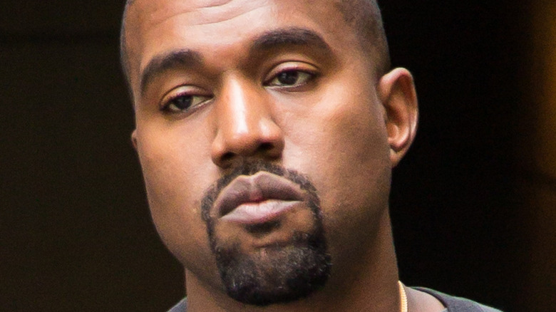 Kanye West captured by the paparazzi