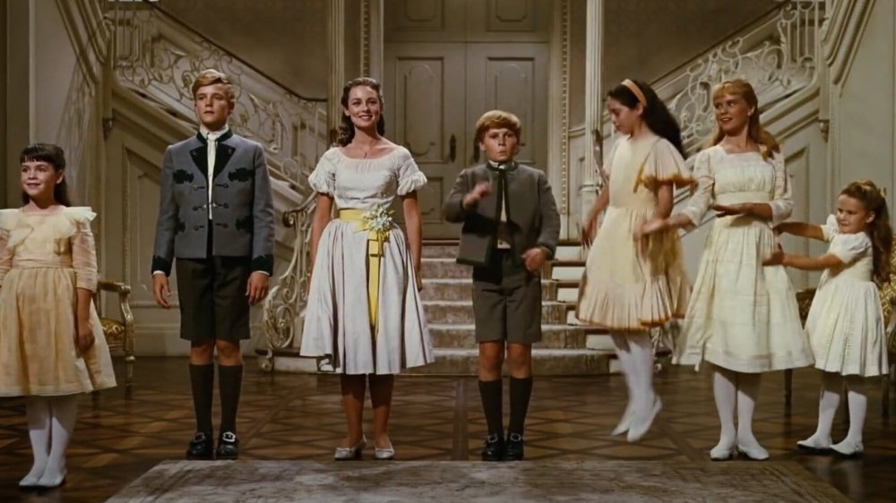 The kids from the film The Sound of Music