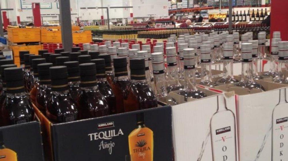 Costco liquor department