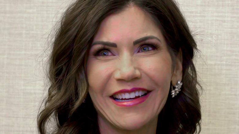 Smiling close up, Kristie Noem