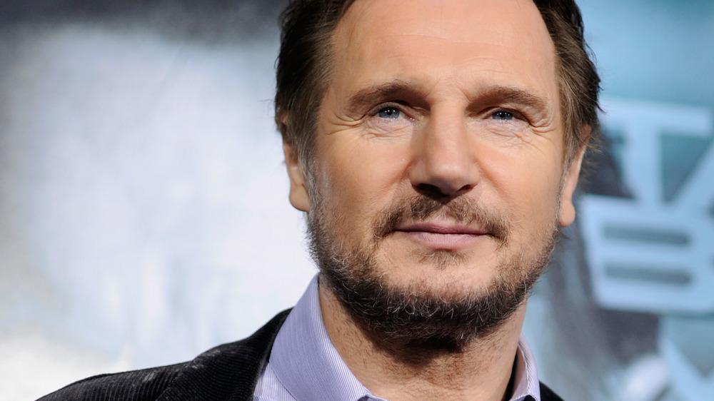 Liam Neeson at premiere of Unknown