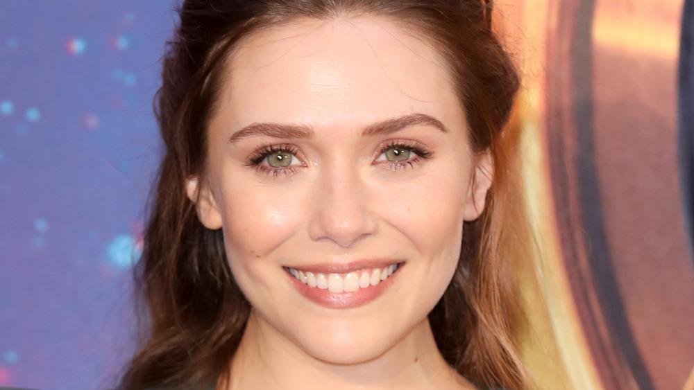 Elizabeth Olsen smiling