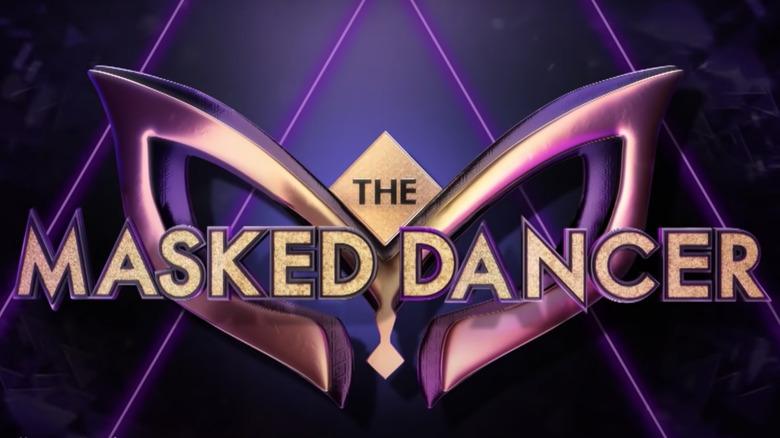 The Masked Dancer logo from 'Ellen'