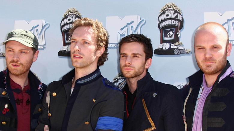 Coldplay at the MTV Movie Awards