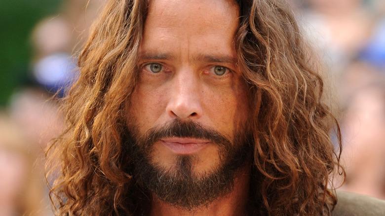 Chris Cornell on the red carpet