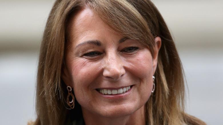Carole Middleton smiling