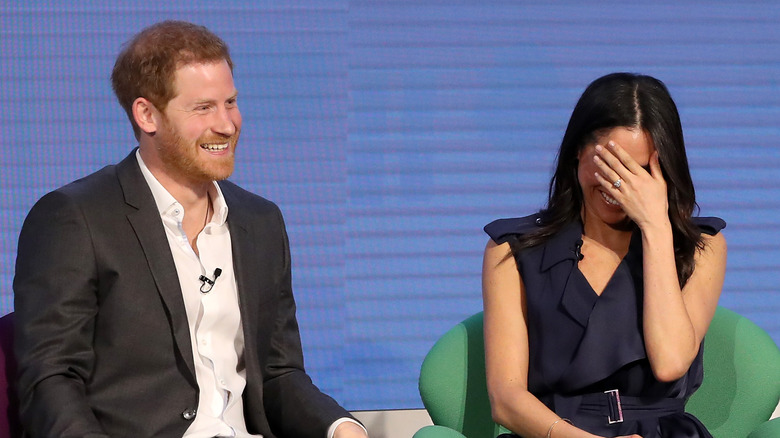 an awkward royal family iterview at the Royal Foundation Forum