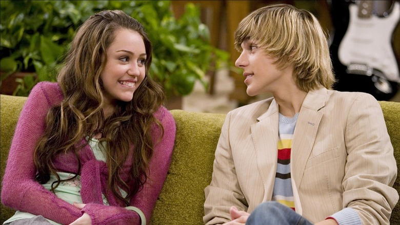 Hannah Montana and Jake in Hannah Montana