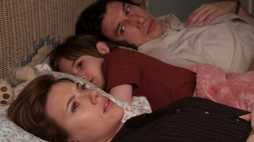 Scarlett Johannson and Adam Driver in Marriage Story